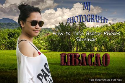 MJ Photog Seminar in Libacao